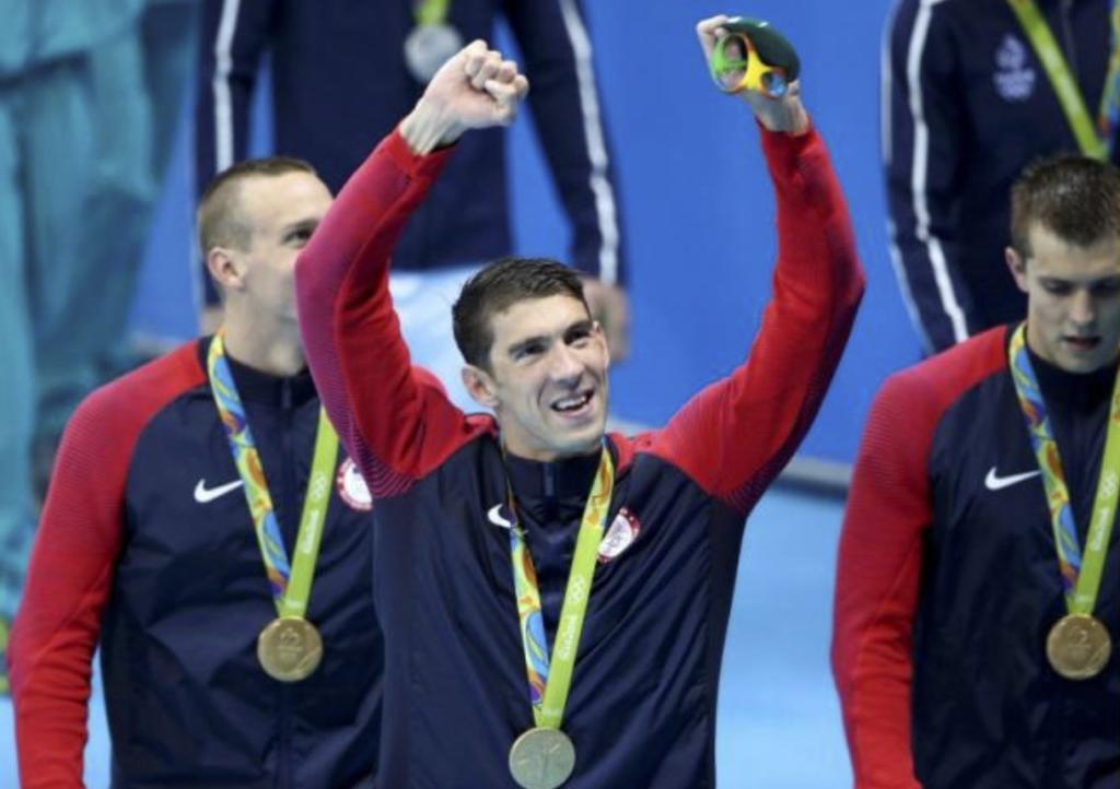 Micahel Phelps - Reuters