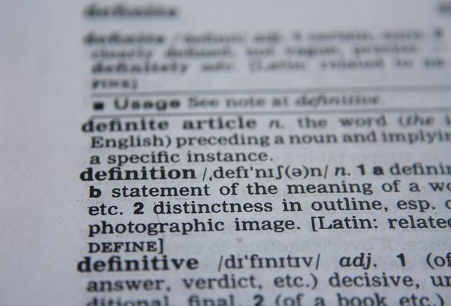 Custom Definitions
