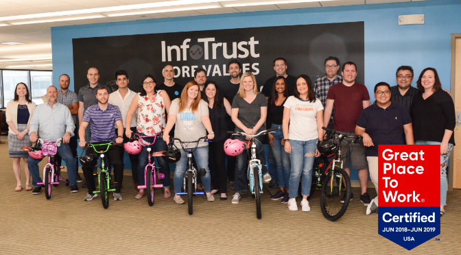 InfoTrust is a Great Place to Work