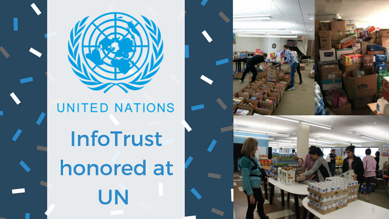 InfoTrust Honored at United Nations