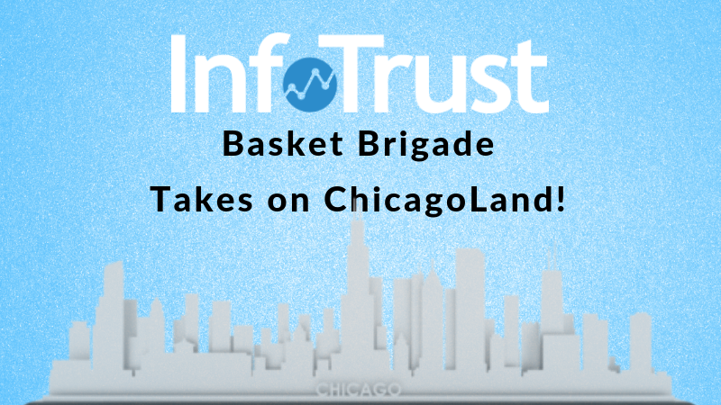InfoTrust Basket Brigade Takes on ChicagoLand!