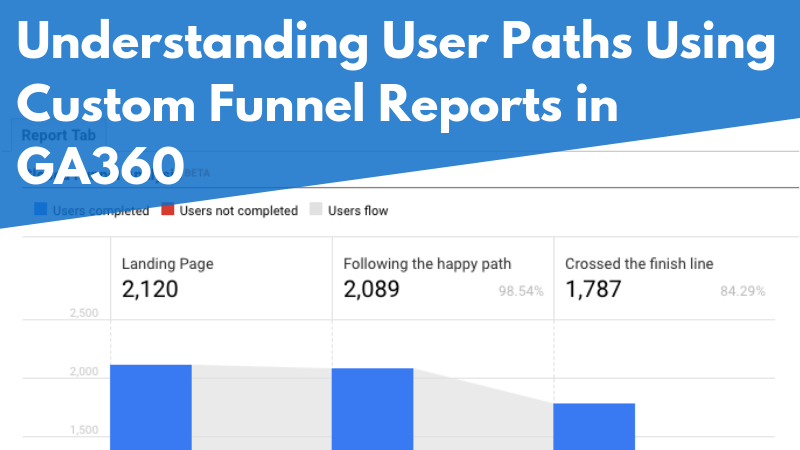 Understanding User Paths Using Custom Funnel Reports in GA360