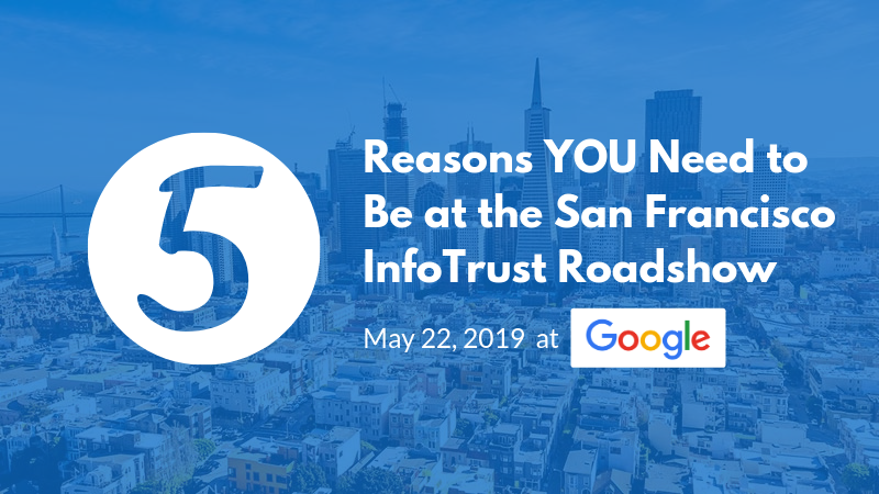 5 Reasons You Need to Be at the InfoTrust Google Analytics Roadshow Event