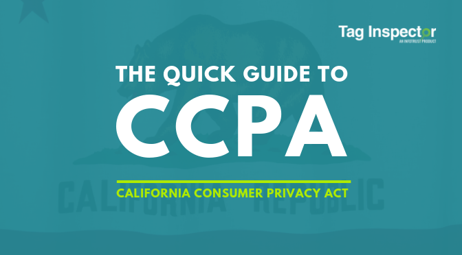 CCPA Quick Guide: What Companies in (and outside) California Need to Know Now