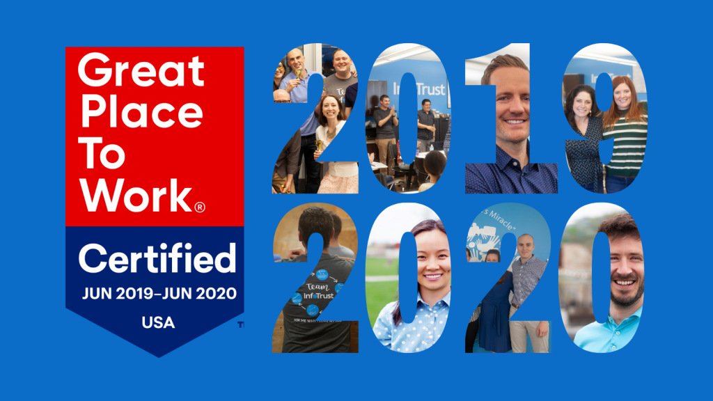 InfoTrust Earns Great Place to Work Certification for Third Straight Year