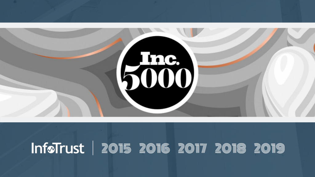 InfoTrust Named to Inc. 5000 List for Fifth Straight Year