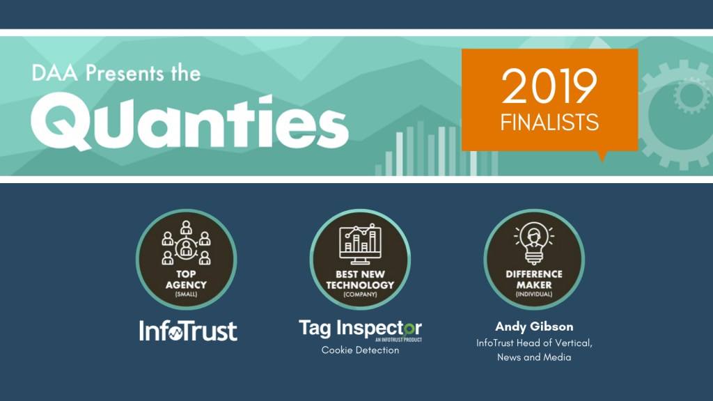 InfoTrust and Tag Inspector Named Quanties Finalists