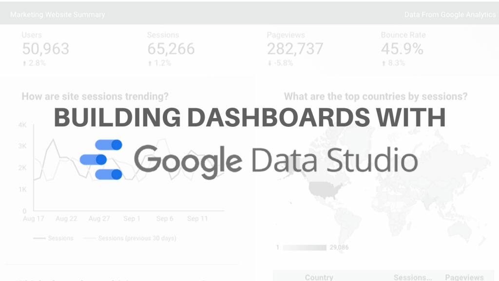 Webinar: Building Best in Class Dashboards in Data Studio, and Stories From the Front Lines
