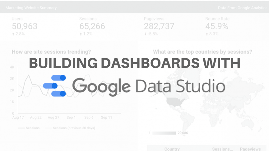 Building Dashboards with Data Studio