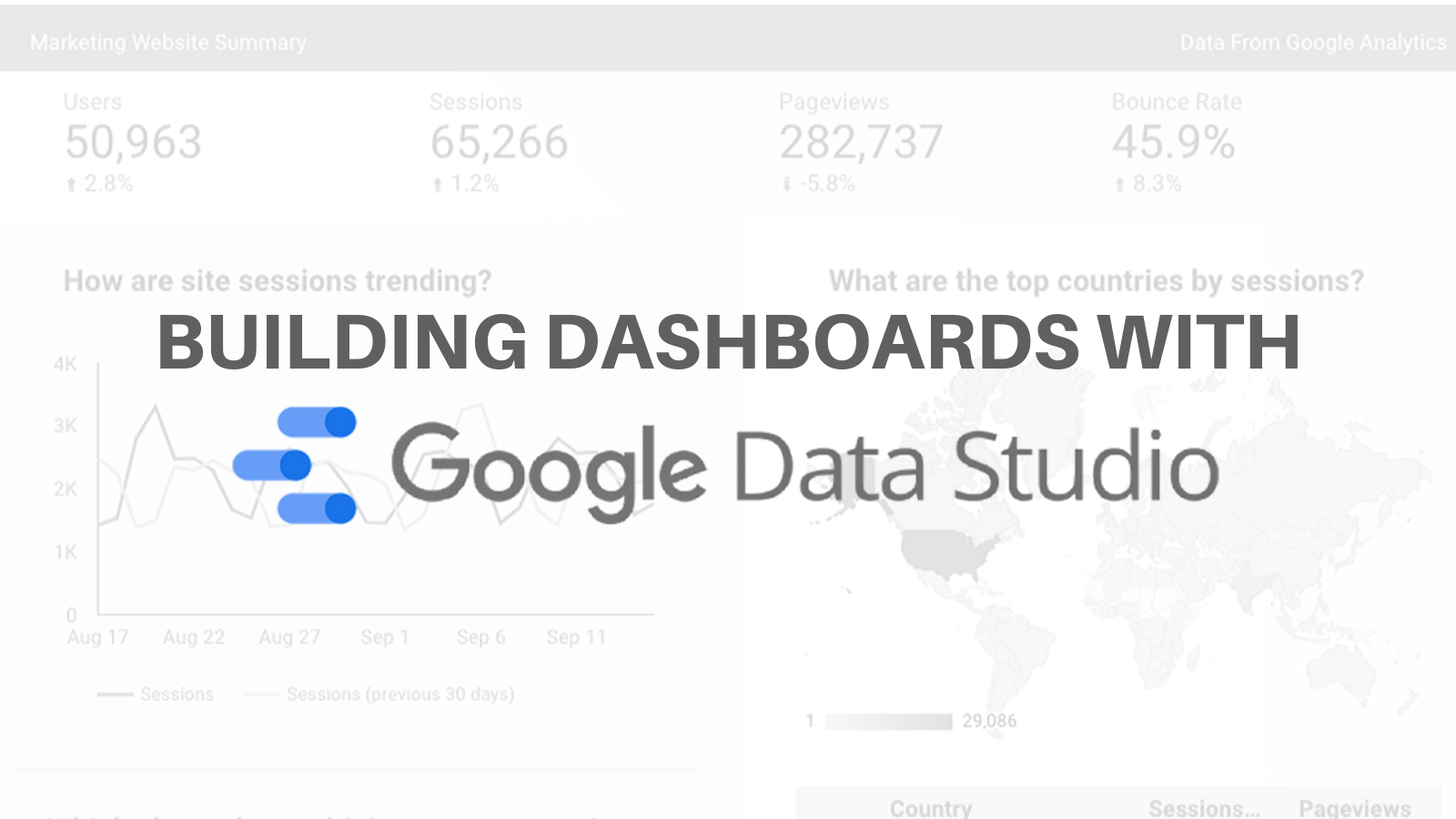 Building Best in Class Dashboards in Data Studio, and Stories From the Front Lines