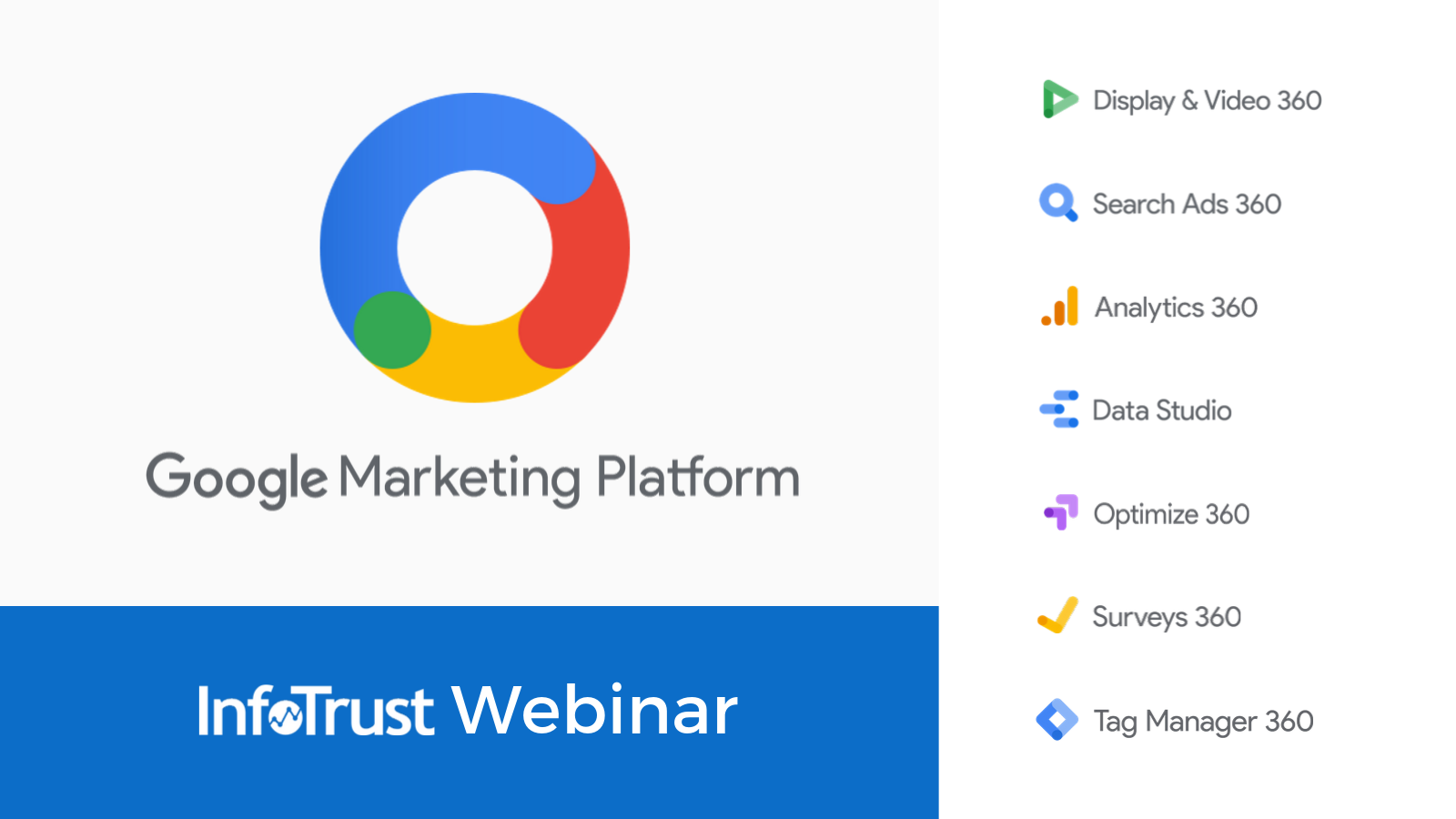 Get to Know All Products Available in the Google Marketing Platform