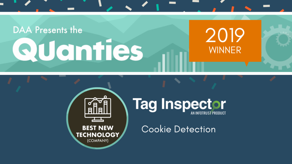 Tag Inspector's Cookie Detection Feature Receives Quanties Award for Best New Technology