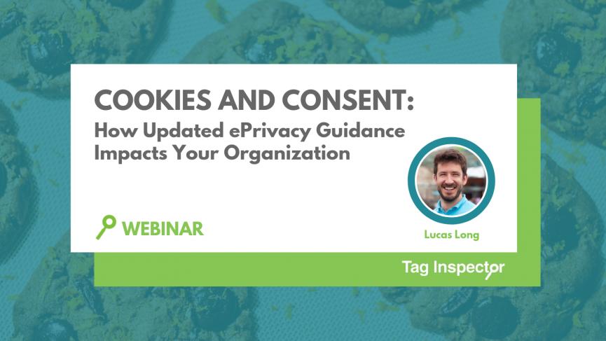 ePrivacy cookies consent webinar