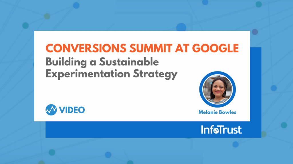 Building a Sustainable Experimentation Strategy with Melanie Bowles