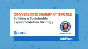 Conversions Summit at Google Melanie Bowles