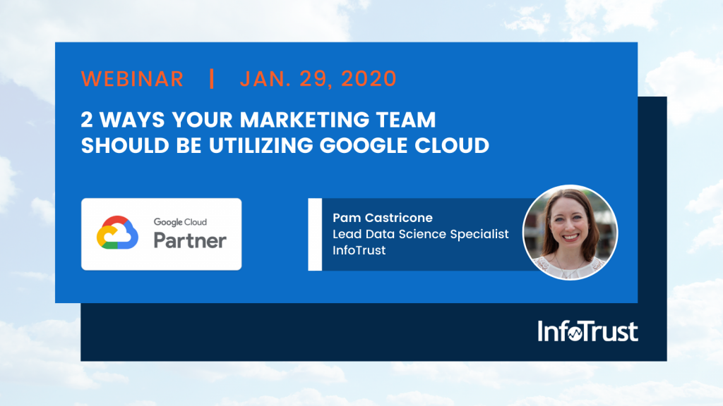 2 Ways Your Marketing Team Should Be Utilizing Google Cloud