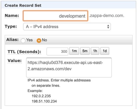 serverless pythone web hosting on aws