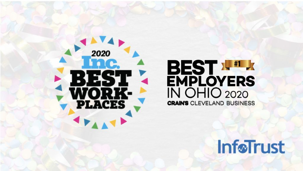 InfoTrust Recognized as 2020 Top Employer on State and National Lists
