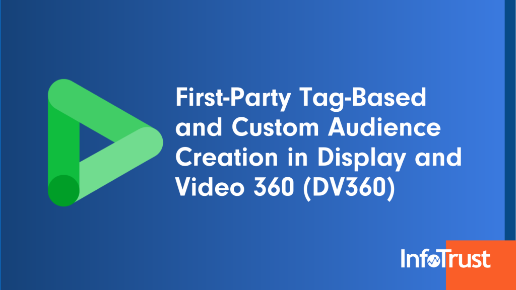 First-Party Tag-Based and Custom Audience Creation in Display and Video 360 (DV360)