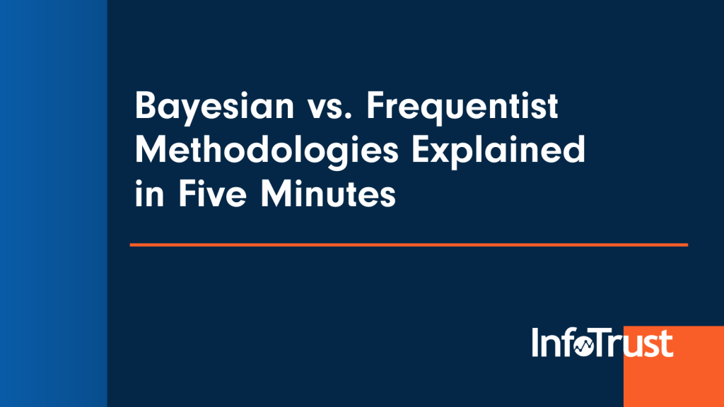Bayesian vs. Frequentist Methodologies Explained in Five Minutes