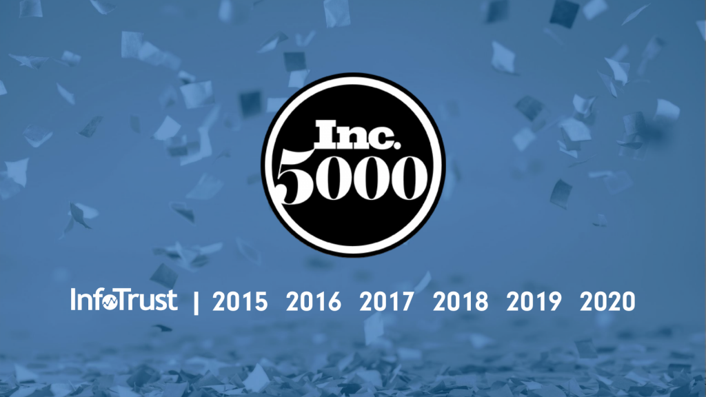 InfoTrust Named to Inc. 5000 List for Sixth Straight Year