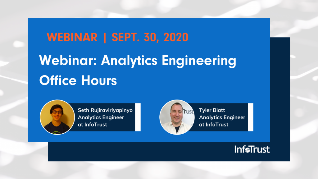 Webinar: Analytics Engineering Office Hours
