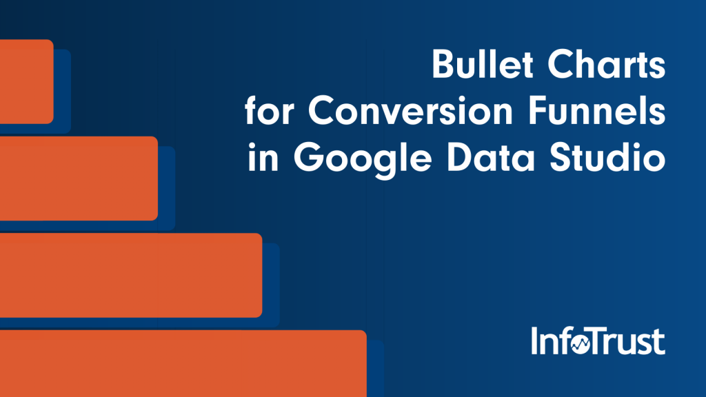 Bullet Charts for Conversion Funnels in Google Data Studio