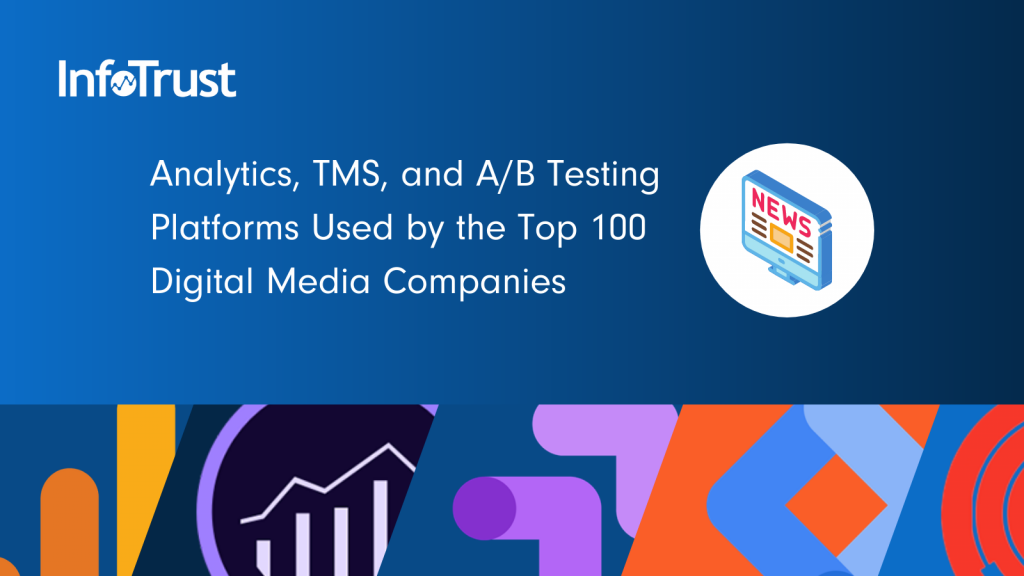 Which Analytics, TMS, and A/B Testing Platforms are Used by the Top 100 Digital News Outlets?