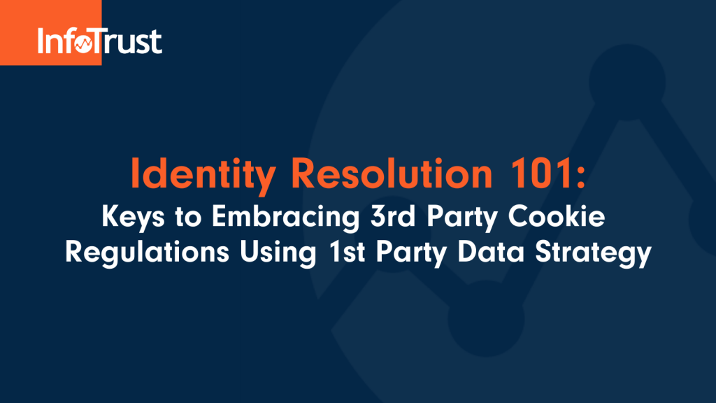 Identity Resolution 101: Keys to Embracing 3rd Party Cookie Regulations Using 1st Party Data Strategy