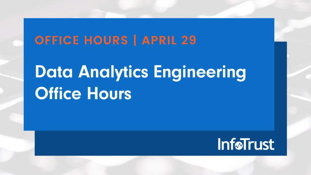 Webinar: Data Analytics Engineering Office Hours