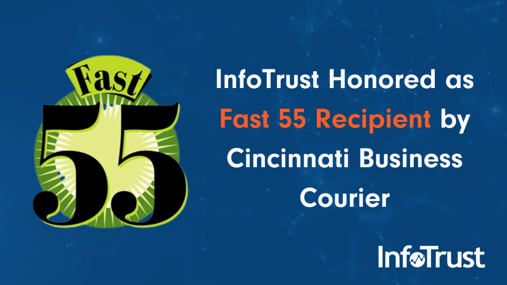 InfoTrust Honored as Fast 55 Recipient by Cincinnati Business Courier