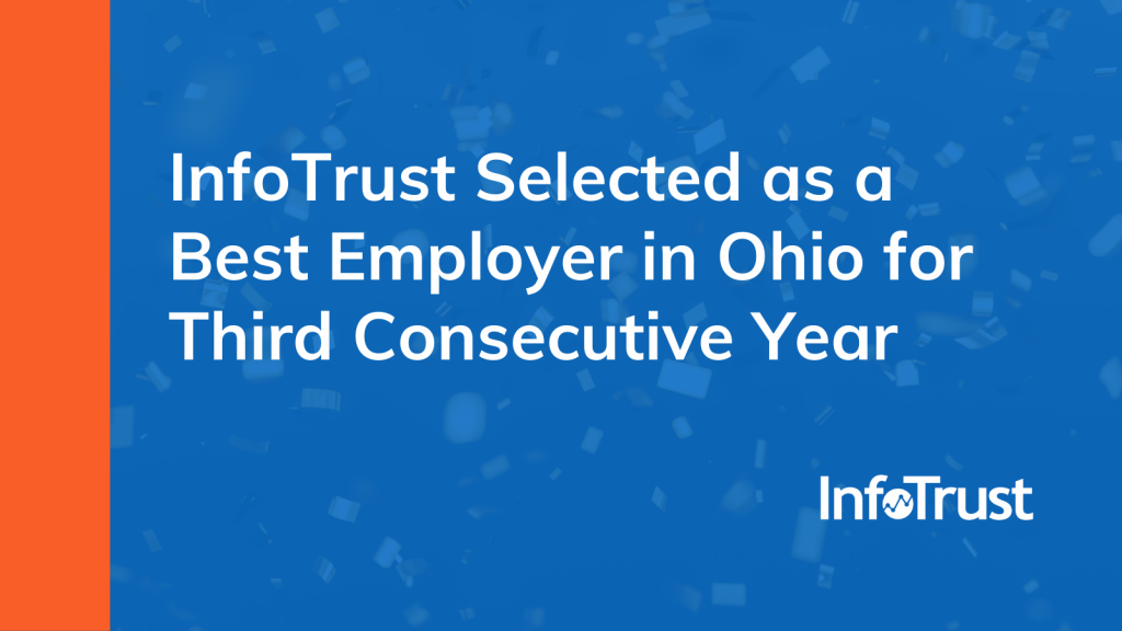 InfoTrust Selected as a Best Employer in Ohio for Third Consecutive Year