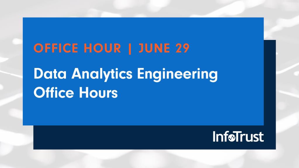 Webinar: Data Analytics Engineering Office Hours
