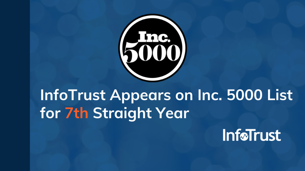 InfoTrust Appears on Inc. 5000 List for 7th Straight Year