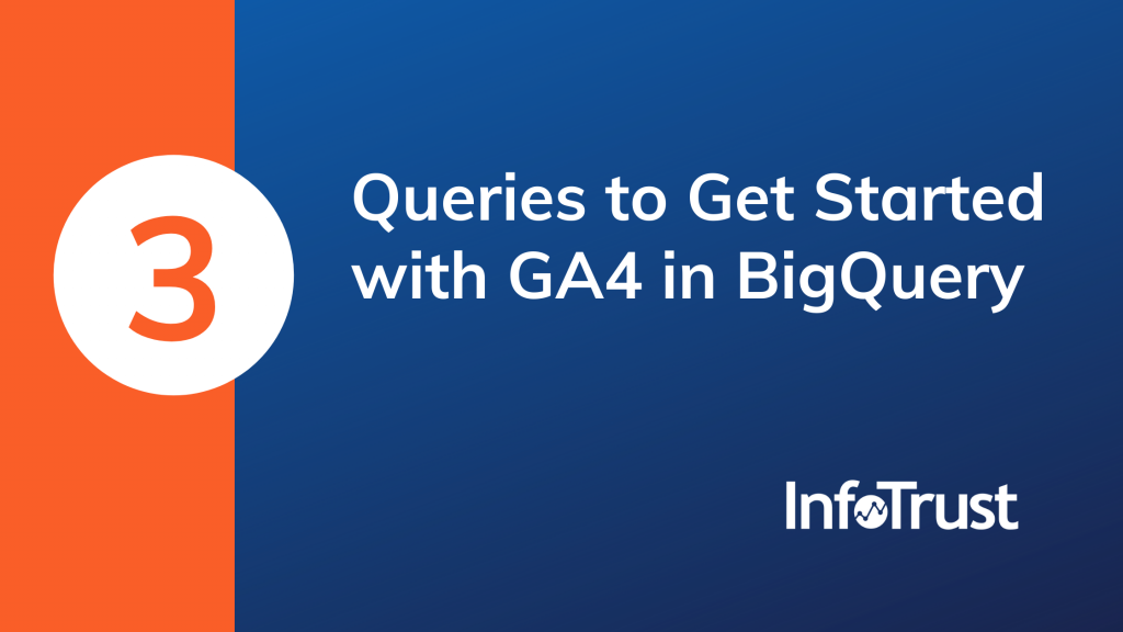 3 Queries to Get Started with GA4 in BigQuery