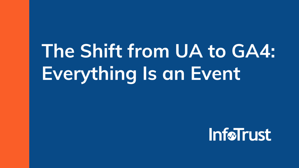 The Shift from UA to GA4:  Everything Is an Event