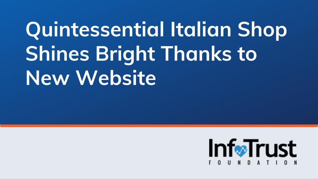 Quintessential Italian Shop Solari Shines Bright Thanks to New Website