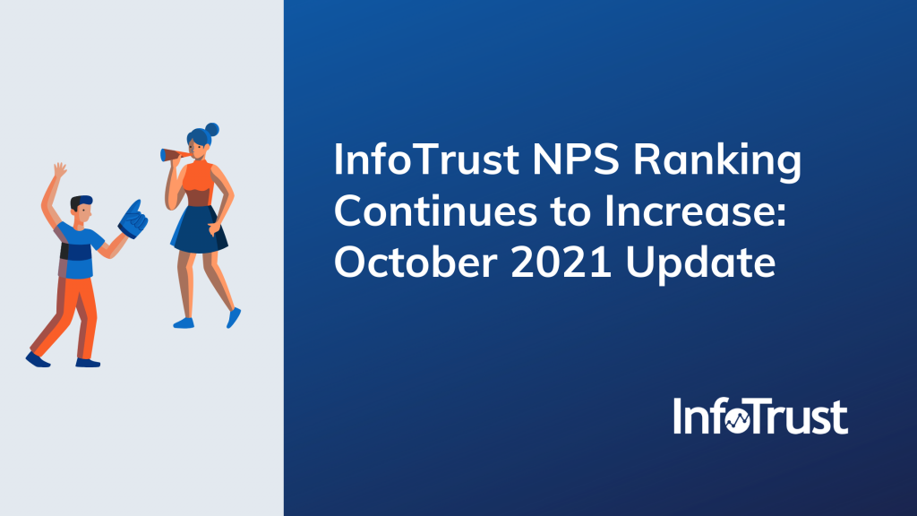 InfoTrust NPS Ranking Continues to Increase: October 2021 Update